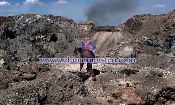 民主刚果钴矿图片