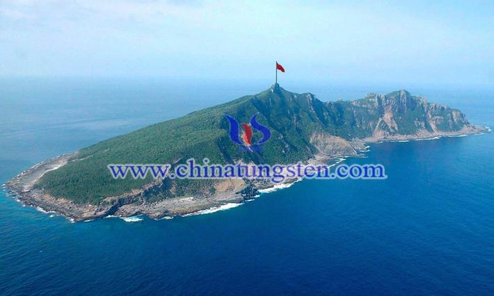 钓鱼岛-中国的蓝色国土图片