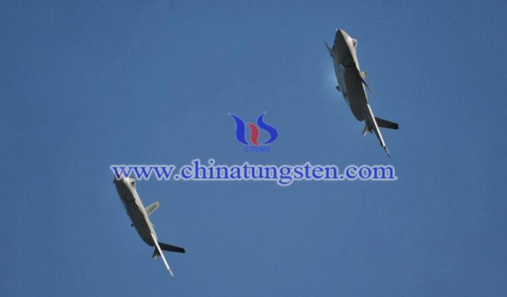 歼-20双机表演图片