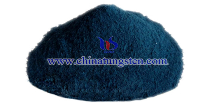 蓝色氧化钨图片