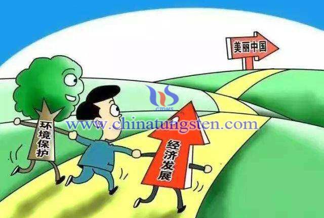 经济发展与环境保护同行,只为美丽中国图片