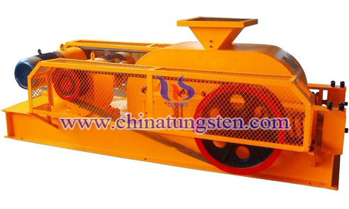 tungsten concentrate gravity separation – roll crusher image