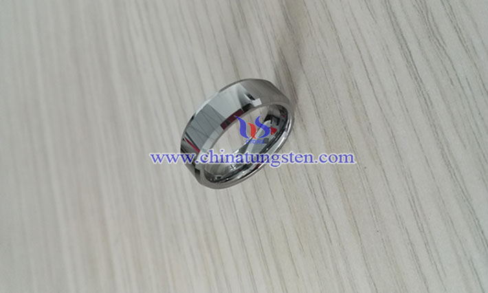 men tungsten carbide ring image