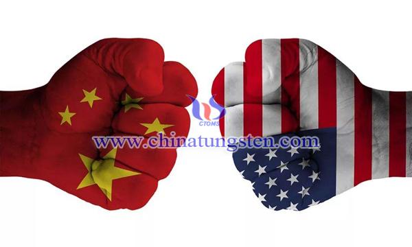 中美贸易摩擦图片