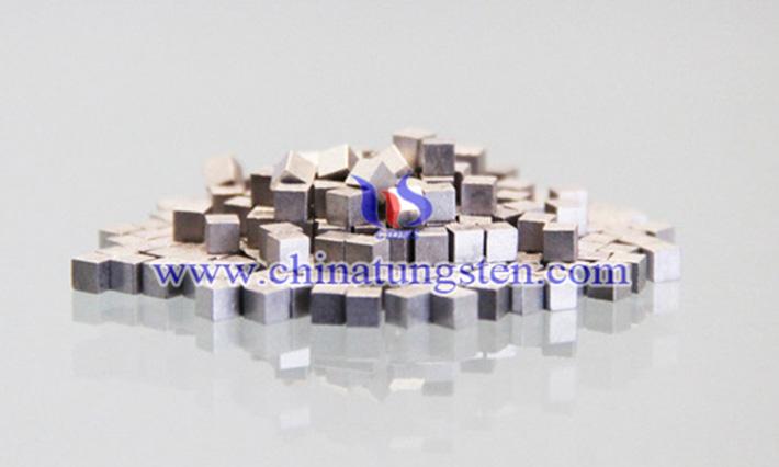 钨合金小方块图片