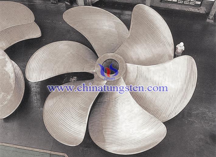 硬质合金螺旋桨图片