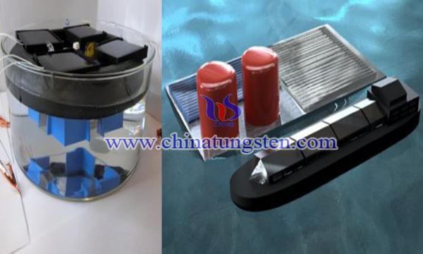 米二硫化钨可用于海水制氢图片