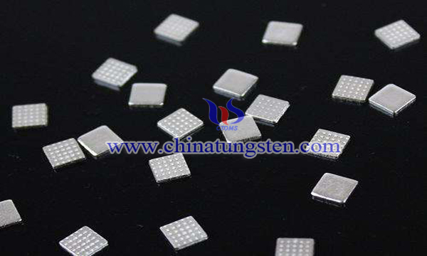 sheet silver nickel tungsten electrical contact image