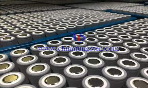 tungsten carbide shell coated lithium iron phosphate cathode material image